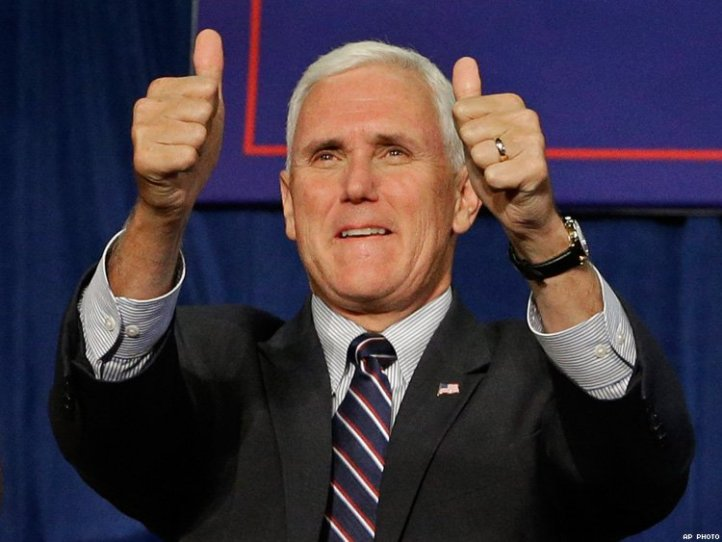 mikepencethumbsup
