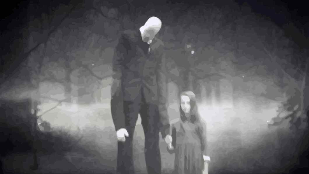 slenderman-with-child