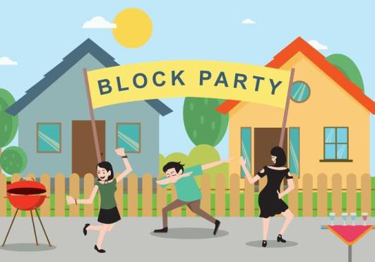 vector-free-block-party-illustration